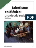 Analfabetismo en México