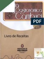 2010 PAS Livro Receitas Cambuci PAS II Rota Gastronomica Do Cambuci