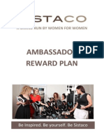 SISTACO Ambassador Reward Program