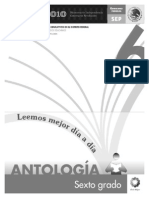 Antologia Sexto Lectura 6