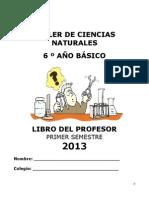 Libro del profesor 6° 2013 Sem 1