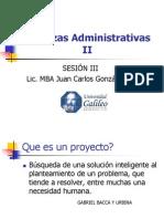 Finanzas Administrativas II Semana III