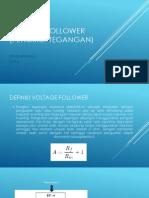 Voltage Follower (Pengikut Tegangan)