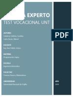 informeTEST_VOCACIONAL