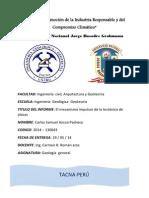 El Mecanismo Impulsor de La Tectonica de Placas - Cralos Samuel Ancco Pacheco