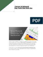 10 Free Servers & Network Monitoring Tools