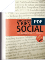 Fernanda Wanderley Crecimiento Empleo y Bienestar Social