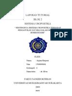 LAPORAN TUTORIAL-Sistema Uropoetica