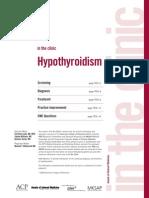 Hypothyroidism AIM 2009