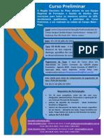Cartaz Do Curso Preliminar Campo Maior