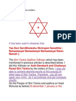 Paarad Shriyantra Sadhna