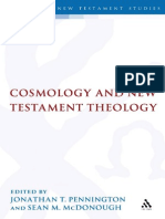 Cosmology and New Testament Theology