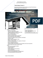 List of Topics Covered in Revit Platinum Ticket Series_2011