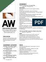 final resume 2014-1