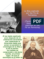 La Misa explicada por el Padre Pio