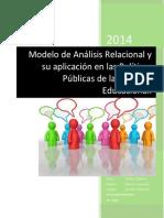 Modelo Análisis Relacional de Políticas Públicas