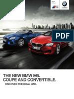 M6 Coupe Convertible Brochure PDF