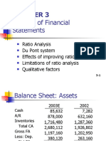 CHAPTER 3 Analysis of Financial Statements