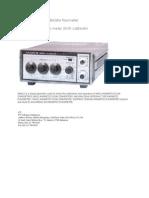 Pendukung Untuk Kalibrator Flowmeter
