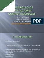 Desarrollo de Aplicaciones Computacionales