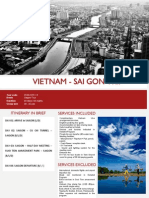 Vietnam tours - Saigon Trip