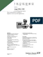 Endress Promag 50H-53H Spec