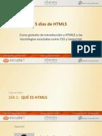 Presentacion Que Es Html5 Escuelait