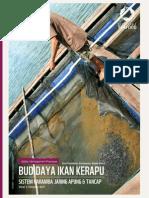 82 Bmp Budidaya Ikan Kerapu Sistem Karamba Jaring Apung Tancap