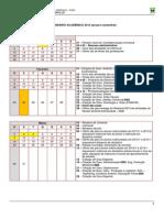 CalendarioAcademico 2014.1 Oficial