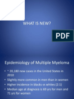 Emerging Therapies in Myeloma