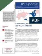 TPP Updates-June