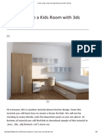 How to Create a Kids Room With 3ds Max _ 2D 3D Tutorials