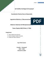 Sistema de Microprocesadores Final 1er Parcial