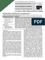 4. Efecto de La Velocidad de Congelacion en La Pulpa de Guanabana Por Liofilizacion