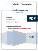 PharmEvo_Strategic Management Report