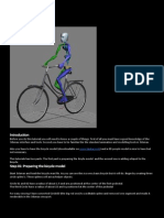 3d Max - Riding a Bicycle