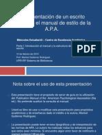 Apa 6ta Pt 1 Intro y Estructura Redaccion