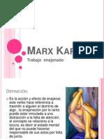Marx Karl Enajenacion
