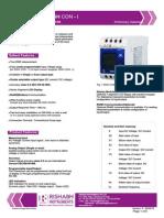 1.Datasheet. Uploads Product RISH CON VI