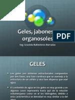 Geles, Jabones y Organosoles
