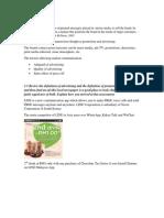 Market Communication CASE 1