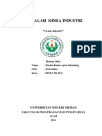 Makalah Green Industri.mariatink11. 4113210016