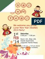 Korean Lunar New Year 2014