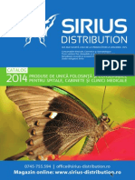 Sirius Distribution Catalog Medicale 2014 WEB