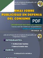 Grupo n.10 Normas Sobre Publicidad en Defensa Del Consumidor