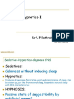 Sedative Hypnotics I & II
