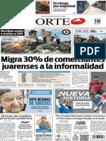 Periódico Norte edición del día 18 de julio de 2014