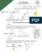 Guia Elementos Del Triangulo