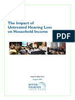 Research Impact of Hearing Loss on Income