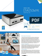 Nuc Kit d54250wyk Product Brief